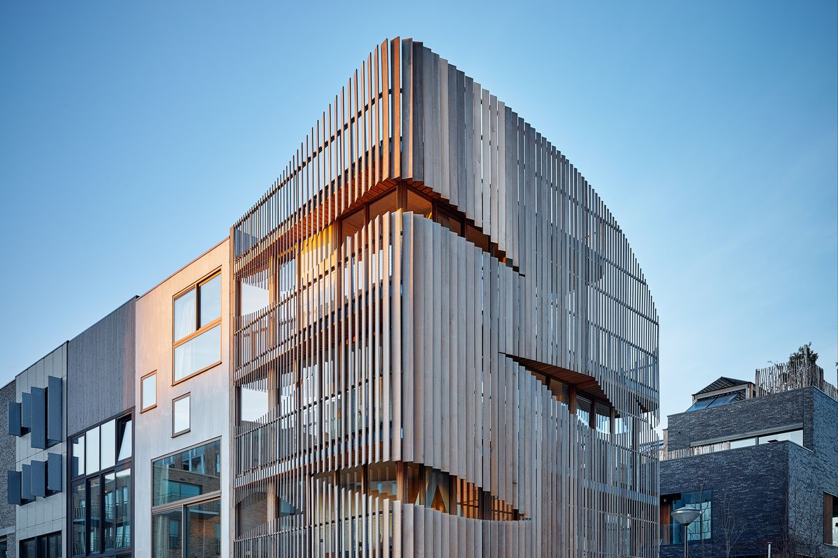Sculptural Apartment Building was Designed to Evoke A Ship