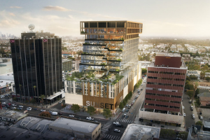 A Timber-Topped Terraced Office Tower Could be Coming to the Heart Of Hollywood