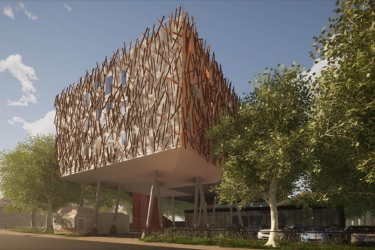 aLL Design unveils plans for Cambridge digs on stilts