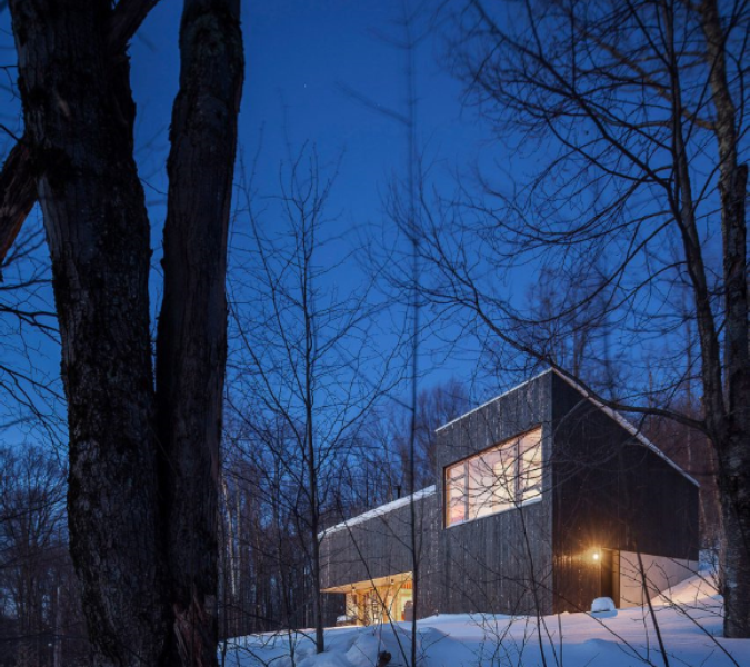 Camp O is an architect's retreat in Upstate New York