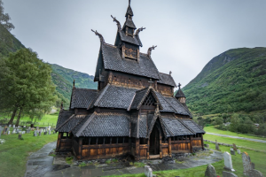 These churches in Norway are 800-900 years old and survived the Black Death