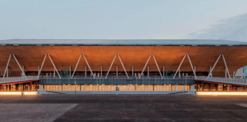 Nikken Sekki completes Timber Gymnastics Centre for Tokyo Olympic games