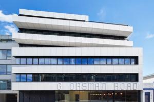 Waugh Thistleton Architects creates fully demountable office block next door to Dezeen