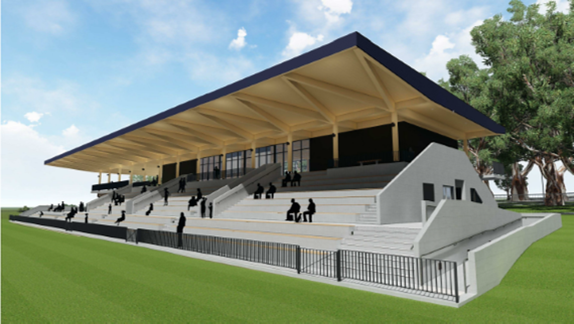 Granville Park Community Sports Pavilion and Field Works Commencing