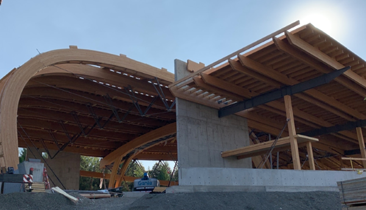 Long-span Timber Sports Arena – University of Idaho Basketball Arena