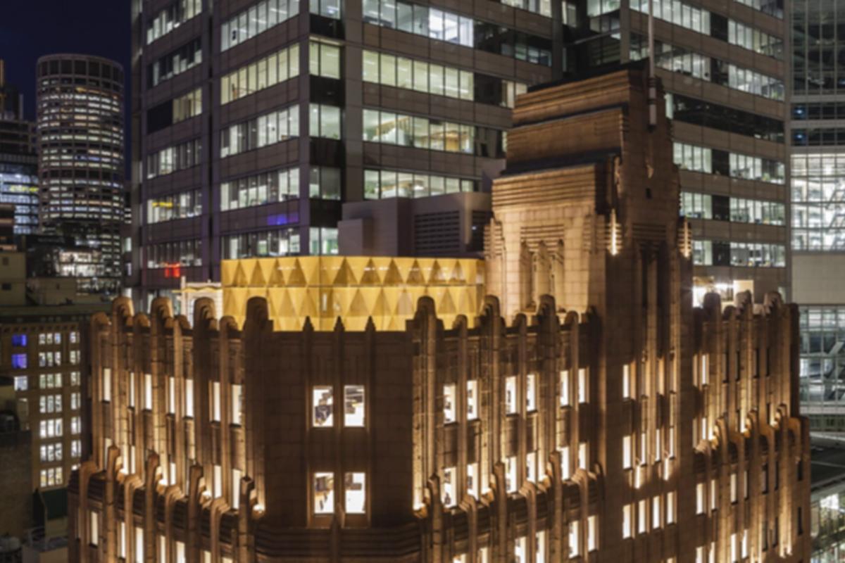 Fender Katsalidis adds a Crown to Sydney Art Deco Building