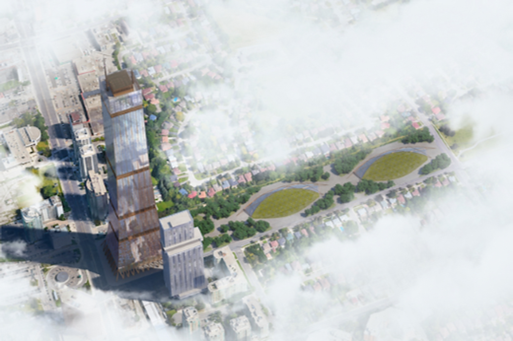 Design Firm Dialog Shows Prototype of 105-storey Hybrid Wood Tower
