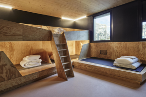Egoin puts its KM0 wood and sustainability stamp on the Hotel Jo & Joe in Paris