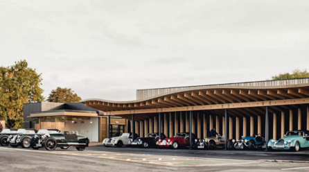 Morgan Motor Gets a Makeover in Malvern