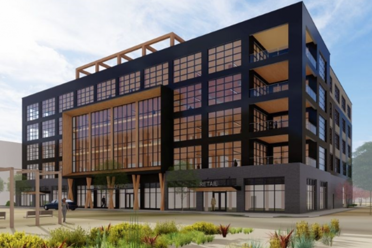 Baltimore Welcomes First Timber Office Building