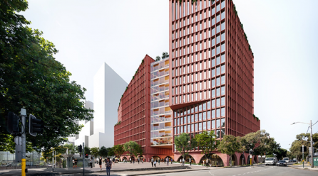 Bates Smart wins Green Square design competition
