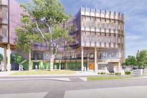 Lyons Architecture's Bendigo Govhub underway