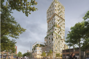 Mad Arkitekter to Build Woho, a Residential Wooden Skyscraper In Berlin